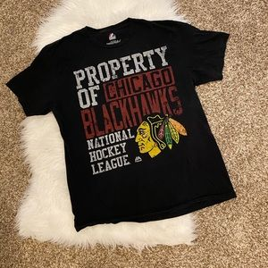 Blackhawks sports shirt